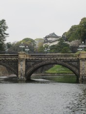 Nijūbashi bridge leads to the main gate of the Imperial Palace.
